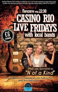 Live Fridays at Casino Rio