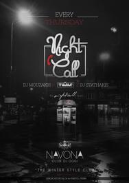 NightCall στο Navona Club di Oggi