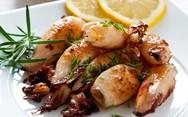 Καλαμαράκια σχάρας - Γευστική συνταγή για το γεύμα σας