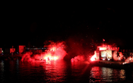 Αναβίωσε το βράδυ του Σαββάτου, η ιστορική Ναυμαχία της Ναυπάκτου! (φωτο+video)