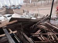 Καταγγελία: «Γκρέμισαν» παραλιακό μαγαζί στο Αρκούδι της Ηλείας (pics)