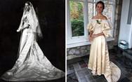 Το νυφικό που φορέθηκε από 11 νύφες μέσα στην ίδια οικογένεια (pics)
