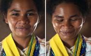 Γυναικεία πρόσωπα πριν και μετά το «είσαι τόσο όμορφη!» (pics)