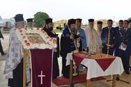 Ο Μητροπολίτης Πατρών Χρυσόστομος στην 116 Πτέρυγα Μάχης στον Άραξο (pics)