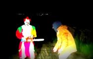 Προσοχή! Σατανικός κλόουν κυκλοφορεί στην περιοχή του Πανεπιστημίου Πατρών! (video)