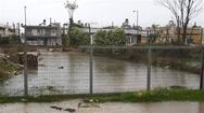 Πάτρα: 'Λίμνες' στην οδό Ακρωτηρίου