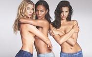 Σφιχταγκαλιασμένα τα τόπλες αγγελάκια της Victoria's Secret (pics)