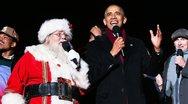 Ο Ομπάμα τραγουδάει τα χριστουγεννιάτικα κάλαντα (video)