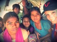 Η Πατρινή εθελόντρια της ActionAid, που βρέθηκε στην πόλη Lalitpur της Ινδίας! (φωτο)