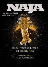 Check Your MicVol.4 feat. Φιλοκτήτης at More Steps Naja