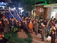 Πάτρα: Η στάση που έκανε η πορεία του Δήμου στα γραφεία του ΚΟΔΗΠ