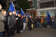 Πάτρα: Η ομιλία του Κώστα Πελετίδη μετά το τέλος της πορείας του Δήμου