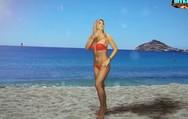 Η Αναστασία Τερζή φοράει ένα κόκκινο σέξι μπικίνι και εύχεται «χρόνια πολλά» (video)