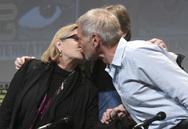 Το «αντίο» του Χάρισον Φορντ στην Κάρι Φίσερ (pics)