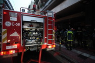 Πάτρα: Φωτιά σε διαμέρισμα πίσω από την εκκλησία της Παντάνασσας