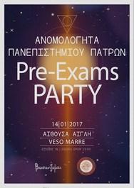 Pre-Exams Party στην Αίθουσα Αίγλη