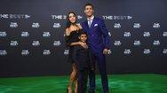 Με τη σύντροφό του στα βραβεία της FIFA, ο Cristiano Ronaldo!