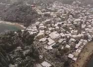 Μαγευτικές εικόνες από την χιονισμένη περιοχή της Πάργας (pics+video)