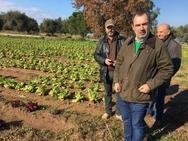 Ο Ανδρέας Κατσανιώτης στις παγόπληκτες καλλιέργειες της Δυτικής Αχαΐας (pics)