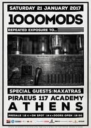1000mods στο Piraeus 117 Academy