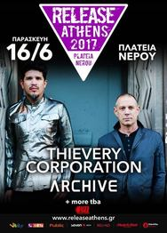 Thievery Corporation + Archive στην Πλατεία Νερού