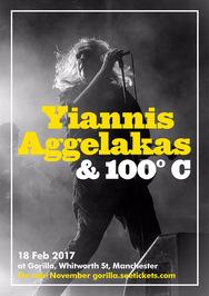 Γιάννης Αγγελάκας & 100°C at Gorilla