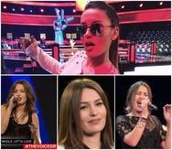 The Voice - Μαίρη Μητρούλια: Μπορεί να μην πέρασε στον ημιτελικό, αλλά 'έλαμψε' σαν 'μικρό βεγγαλικό' (video)