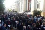 Πάτρα: Στάση εργασίας των υπαλλήλων ΟΤΑ Αχαΐας για την δίκη του Κώστα Πελετίδη