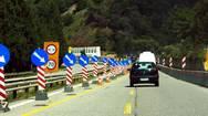 Κυκλοφοριακές ρυθμίσεις στην Πατρών - Κορίνθου