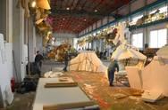 Στην τελική ευθεία οι εργασίες στο Καρναβαλικό Εργαστήρι του Δήμου Πατρέων (video)