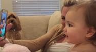 'Συζήτηση' δύο μωρών μέσω βιντεοκλήσης (video)