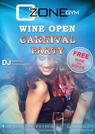 Carnival Open Party at Ozone Gym