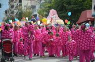Πάτρα: Κέφι, παλμός και φαντασία στην παρέλαση του καρναβαλιού των μικρών!