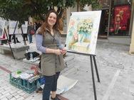 Πάτρα: Μπογιές, χρώματα, νότες και χορός στον πεζόδρομο της Αγίου Νικολάου (pics+vids)