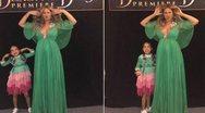 Η εγκυμονούσα Beyonce κάνει γκριμάτσες με την κόρη της (pics)