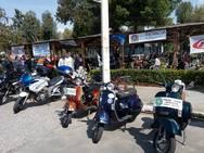 Τα μέλη του Vespa Club Αχαΐας πήγαν στο Μεσολόγγι (pics)