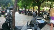 «Νόμος» το παρκάρισμα στους πεζοδρόμους και στις πλατείες της Πάτρας από δίκυκλα και Ι.Χ. (pics)
