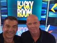Λιάγκας - Καλημέρης: Η συνάντησή τους στο πλατό του Lucky Room