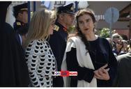 Στο Μεσολόγγι η Λυδία Κονιόρδου για τις εκδηλώσεις της 25ης Μαρτίου (pics)