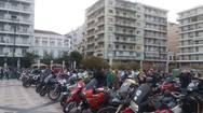 Πάτρα - Η Μοτοπαρέα του Λεωνιδίου τερμάτισε στην πλατεία Γεώργιου (pics+vids)