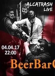 Alcatrash live at Beer Bar Q