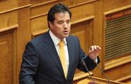 Άδωνις Γεωργιάδης: 'Η κρίση έχει ονοματεπώνυμο Αλέξης Τσίπρας'