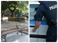Πάτρα: Επιχείρηση «σκούπα» της αστυνομίας στην πλατεία Όλγας - Άνδρας της ΕΛ.ΑΣ. έπιασε πωλητή από τον λαιμό!