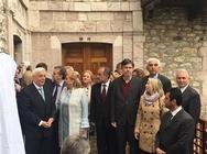 Στην Δίβρη ο Προκόπης Παυλόπουλος - Εγκαινίασε το Κέντρο Πολιτισμού και Περιβάλλοντος (pics)