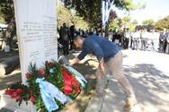 Ο Δήμος Πατρέων τίμησε τους απαγχονισθέντες από τα ναζιστικά στρατεύματα κατοχής (φωτο)