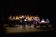 Πάτρα: Συγκίνηση, αναμνήσεις και μουσική στην παρουσίαση του λευκώματος για την μπάντα του Δήμου (pics)