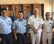Πάτρα: Επίσκεψη του Αρχιπλοιάρχου Σπυρίδων Κοντομάρη στην διεύθυνση της τοπικής ΕΛ.ΑΣ.