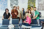 Η ομάδα που δημιούργησε στους τοίχους του 'νέου' Γενικού Νοσοκομείου της Πάτρας! (φωτο)