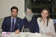 Νίκος Αναδιώτης - Βασιλική Σταματοπούλου: Βάπτισαν τον γιο τους, στο Αίγιο! (φωτο)