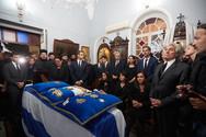 Σήμερα η ταφή του Κωνσταντίνου Μητσοτάκη (pics+video)